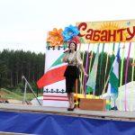 На сцене - выступление артистов из Татарстана