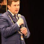 Поздравление от главы города Алексея Шмыкова