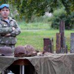 Выставка артефактов войны