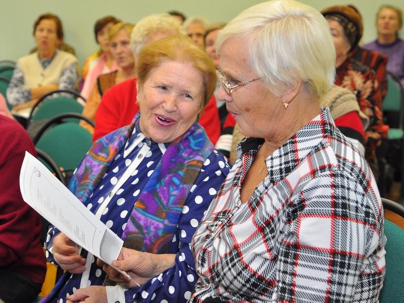 фестиваль творчества людей старшего поколения
