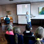 Роль Полины играет ученица ДМШ № 2 Ольга Едик