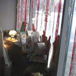Украшение на окнах в СКЦ