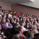 Полный зал зрителей