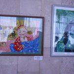 Выставка рисунков студии изобразительного искусства ДКЦ