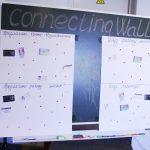Стена контактов в бизнес-школе