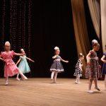 Танцует первый класс хореографического отделения