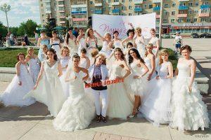 «Парад невест». Городской социальный проект | Площадь Ленинского комсомола