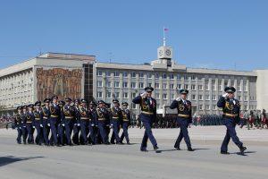 Парад наследников Победы | Площадь Ленинского комсомола